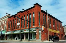 """The Chesson's building is now known as """"The Center."""""""