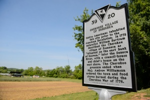 Calhoun Bottoms Historical Marker