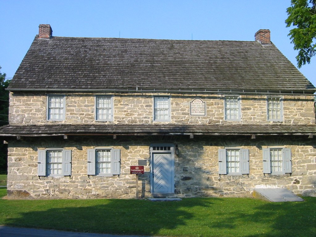 The 1756 Troxell-Steckel House was built 20 years prior to the signing of the Declaration of Independence.