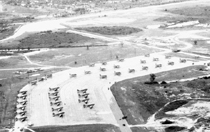 Morrison Field with War planes lined up
