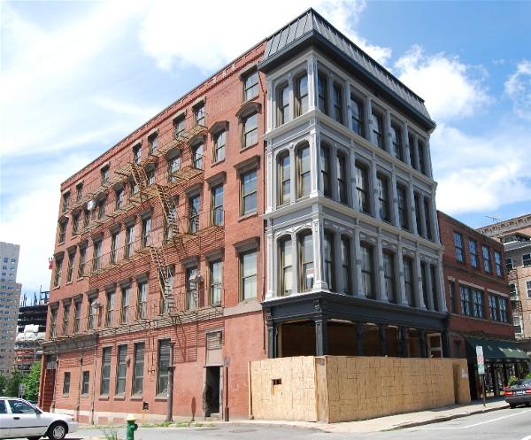 Elizabeth Building, Providence, Rhode Island, 2007.