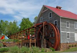 The Johnson Mill was converted into a hotel in the early 1990s. The mill and the nearby house are listed on the National Register of Historic Places.
