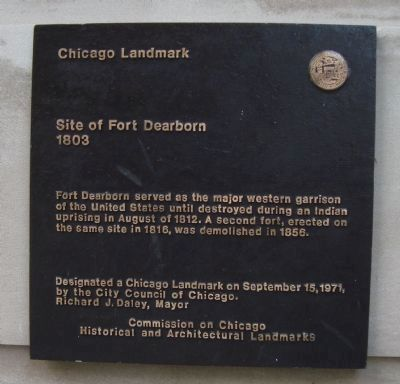 Fort Dearborn Marker