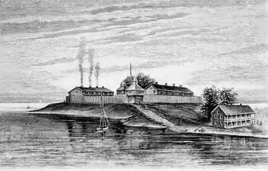 Fort Dearborn aprox.1804