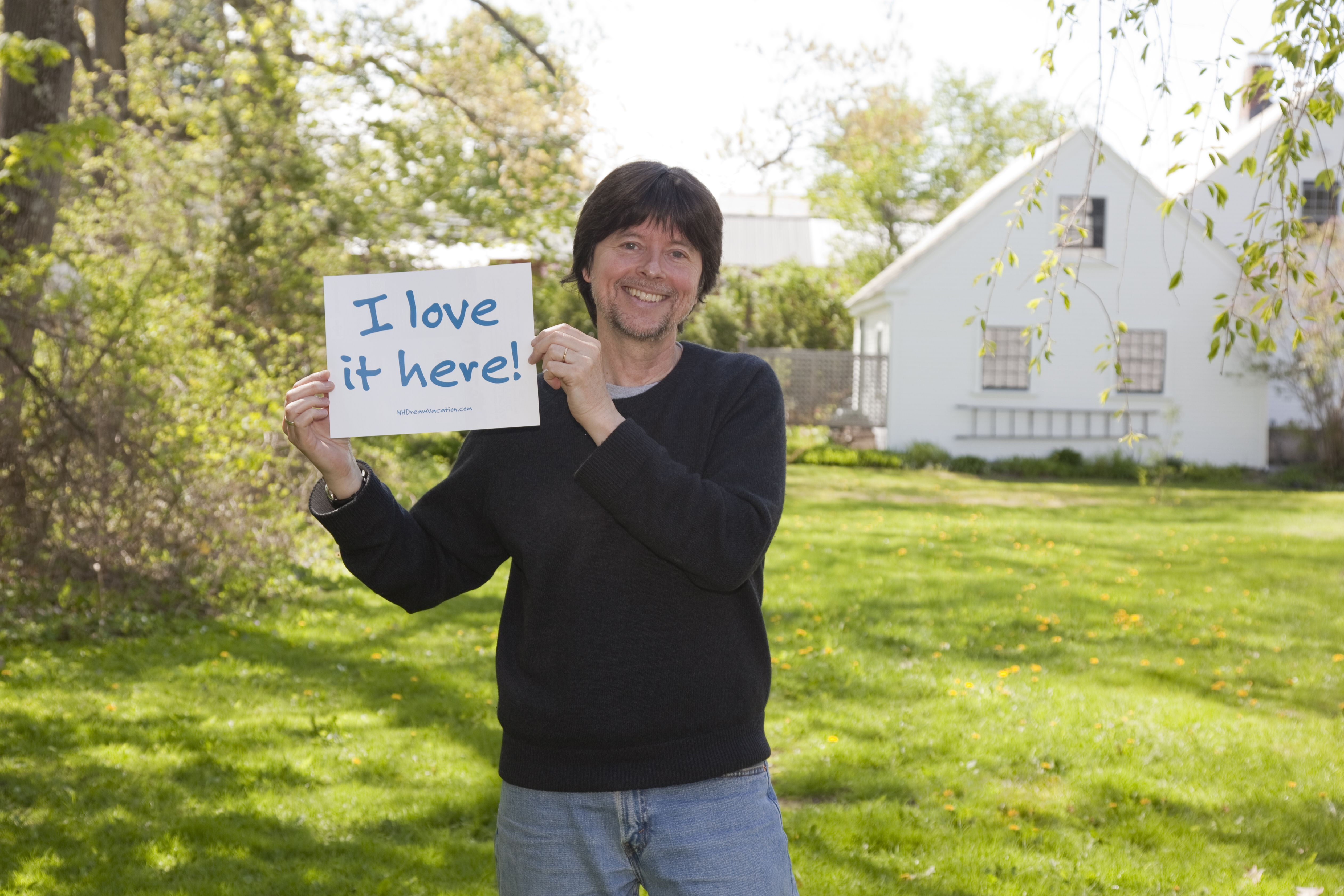 Speaking of documentary filmmaker Ken Burns, he owns a home and restaurant in Walpole.