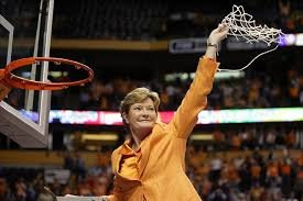 Pat Summitt leads the University of Tennessee to eight national championships.
