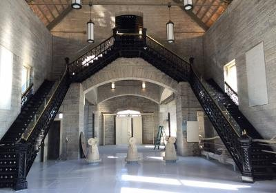 Interior of the gatehouse. Via Water Company website.