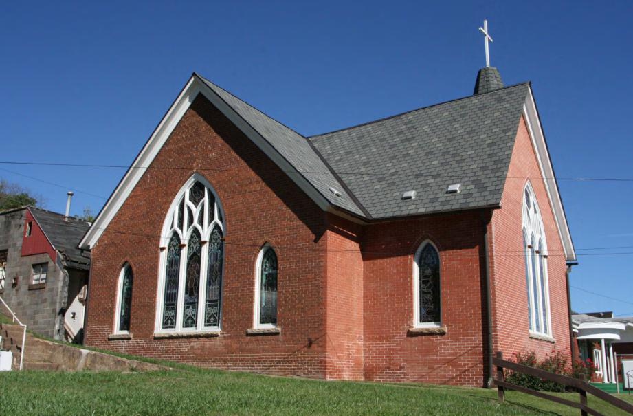 Exterior, facing northeast