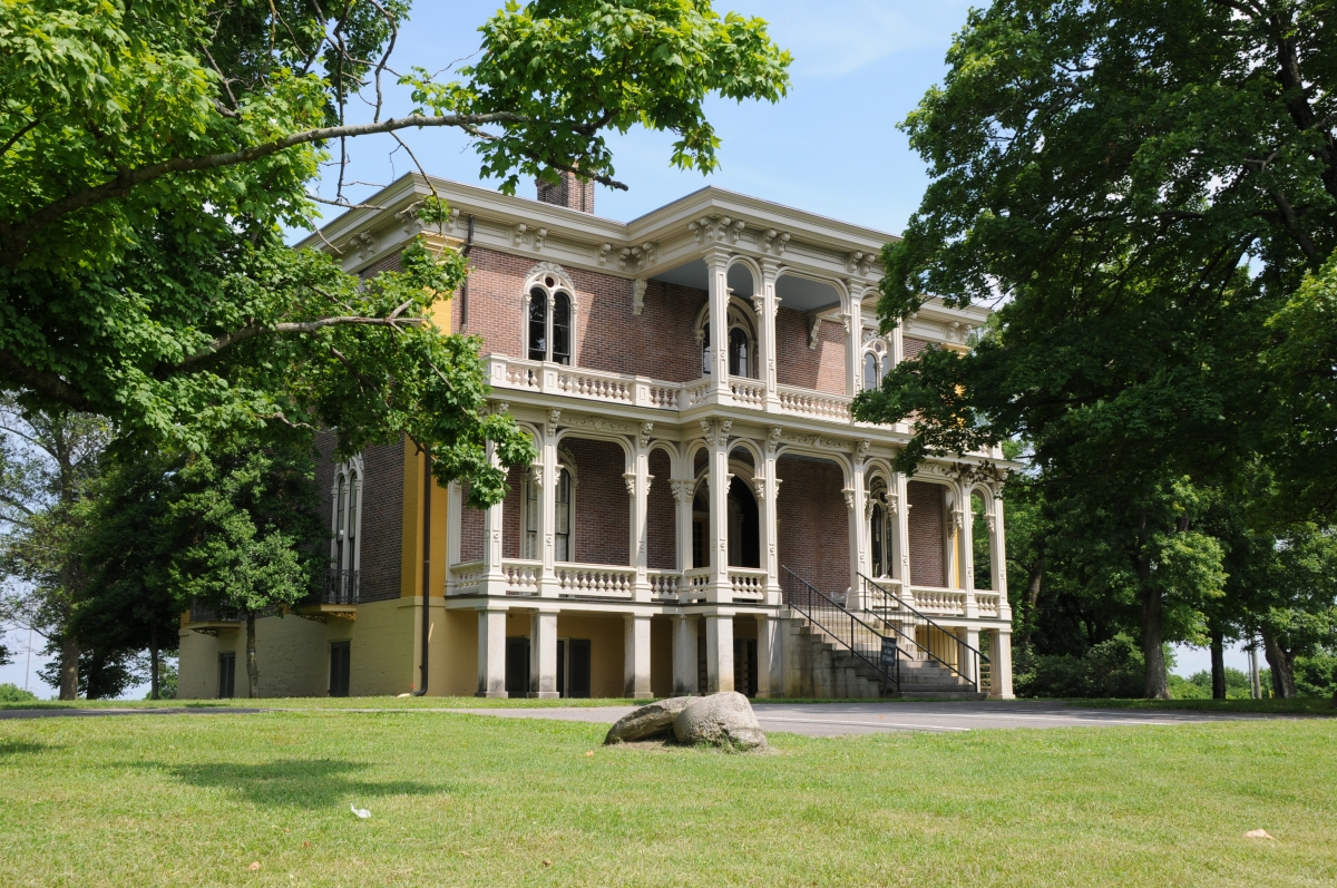 The Clover Bottom Mansion as it looks today. Credit: Tennessee Council for Professional Archaeology