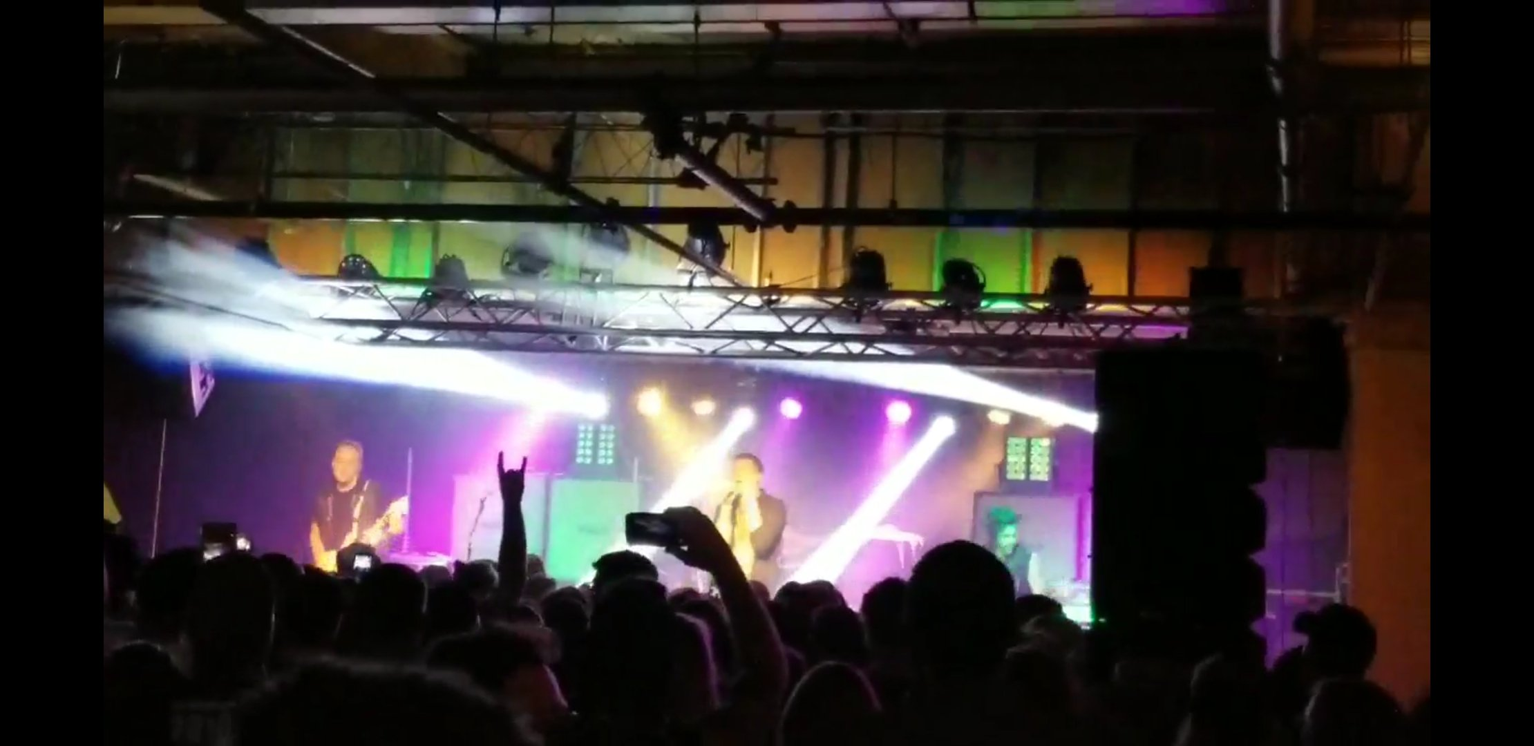 The band Awake At Last preforming in May 2018. The ongoing renovations to the building aim to bring in more music into the areas as well as spread awareness of other fine arts that are missing around the area today. Photo Cred: Author of this page