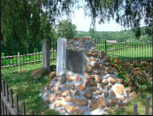 This image is of the gravesite as well as the gravesite of Nancy's son FiveKiller and Longfellow who is Nancy Ward's Brother.