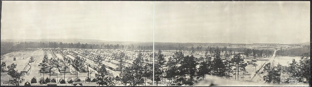South-west from Stockade Tower, no. 1, Camp Sevier, S.C