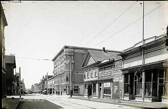 The Vance Hotel building (n.d.)