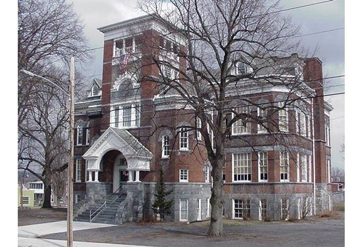 This former school is home to a small local history museum operated by local volunteers.