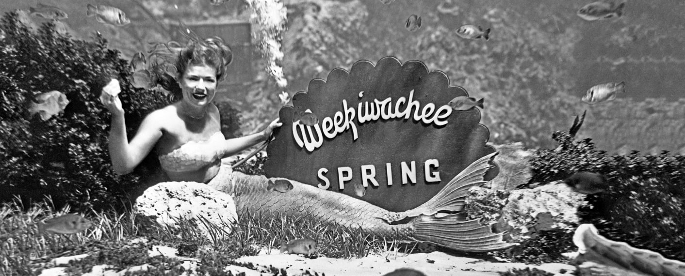 One Weeki Wachee's world-famous mermaids.