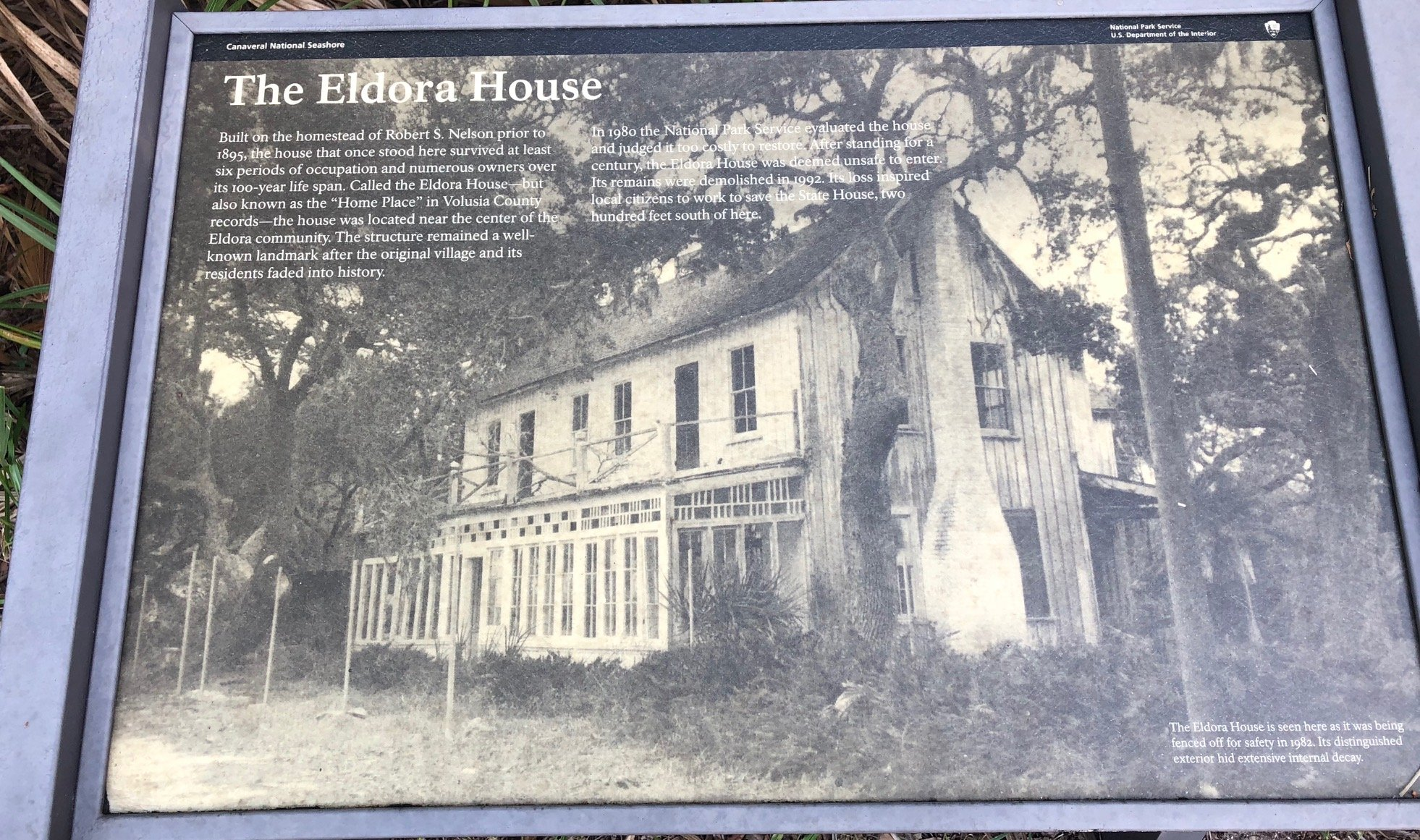 The Eldora house before it's restoration.