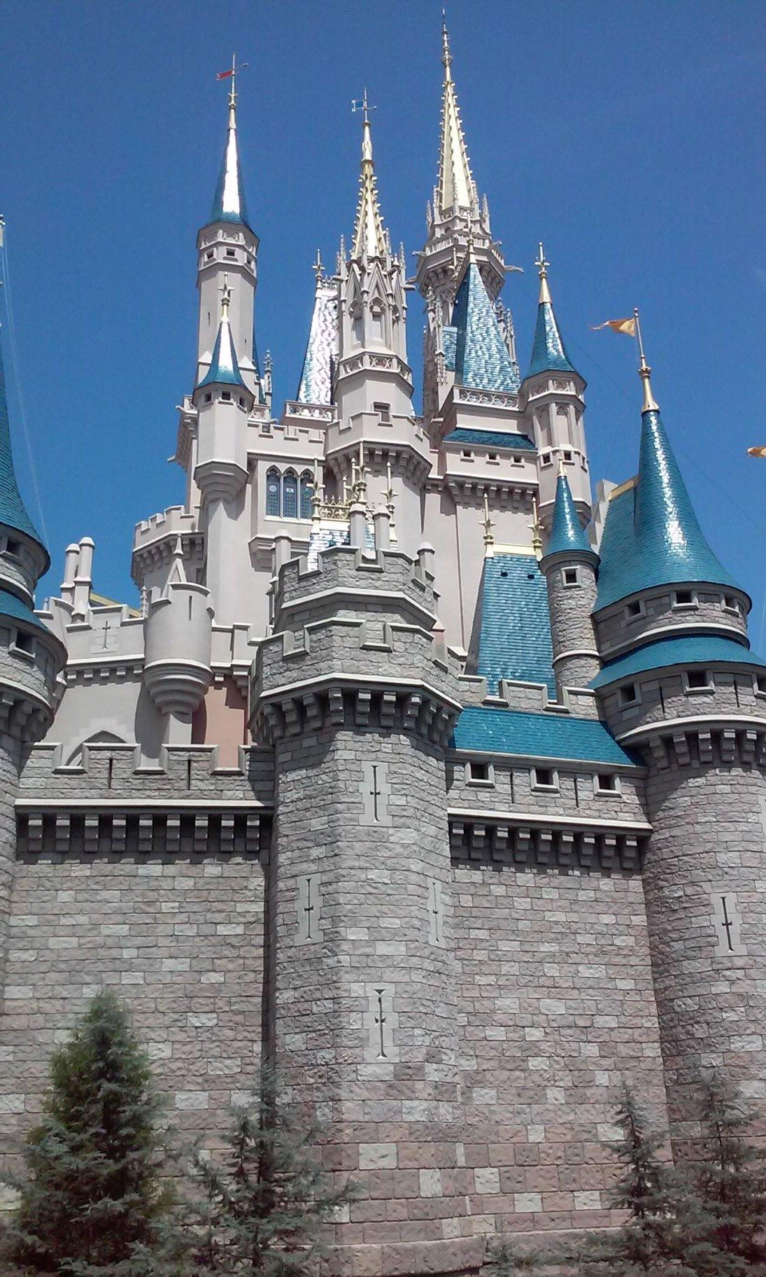 "Cinderella's Castle in the Magic Kingdom park.  McClintic, Tori. ""Cinderella's Castle."" 2018. JPG."