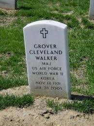 WALKER, GROVER CLEVELAND 