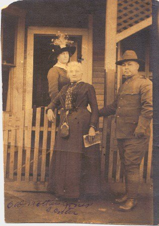 Mother Jones outside her prison in Pratt West Virginia during her court-martial in 1913