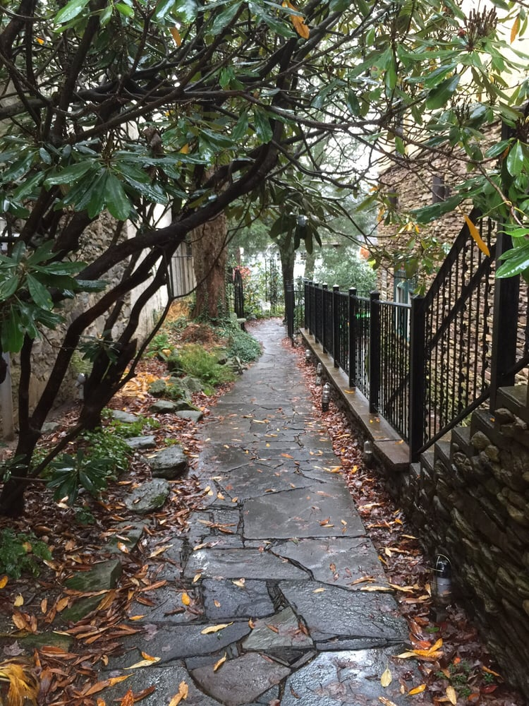 Walkway to main building. Photo submitted to Yelp November 2015.