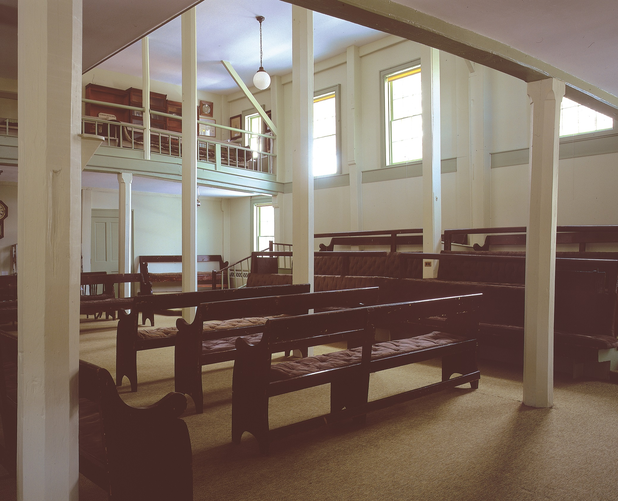 Interior of Chappaqua Meeting House