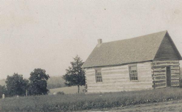 Pleasant Ridge United Brethren Church built in 1884.