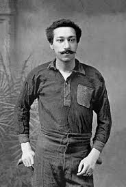 Arthur Wharton, first black professional footballer, who also equaled the amateur world record of 10 seconds for the 100-yard sprint