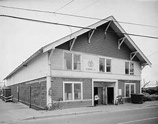 This is the original building of the Alaska Native Brotherhood. It was erected in 1914 in Sitka Alaska.. It still serves as the main location of the society meetings.
