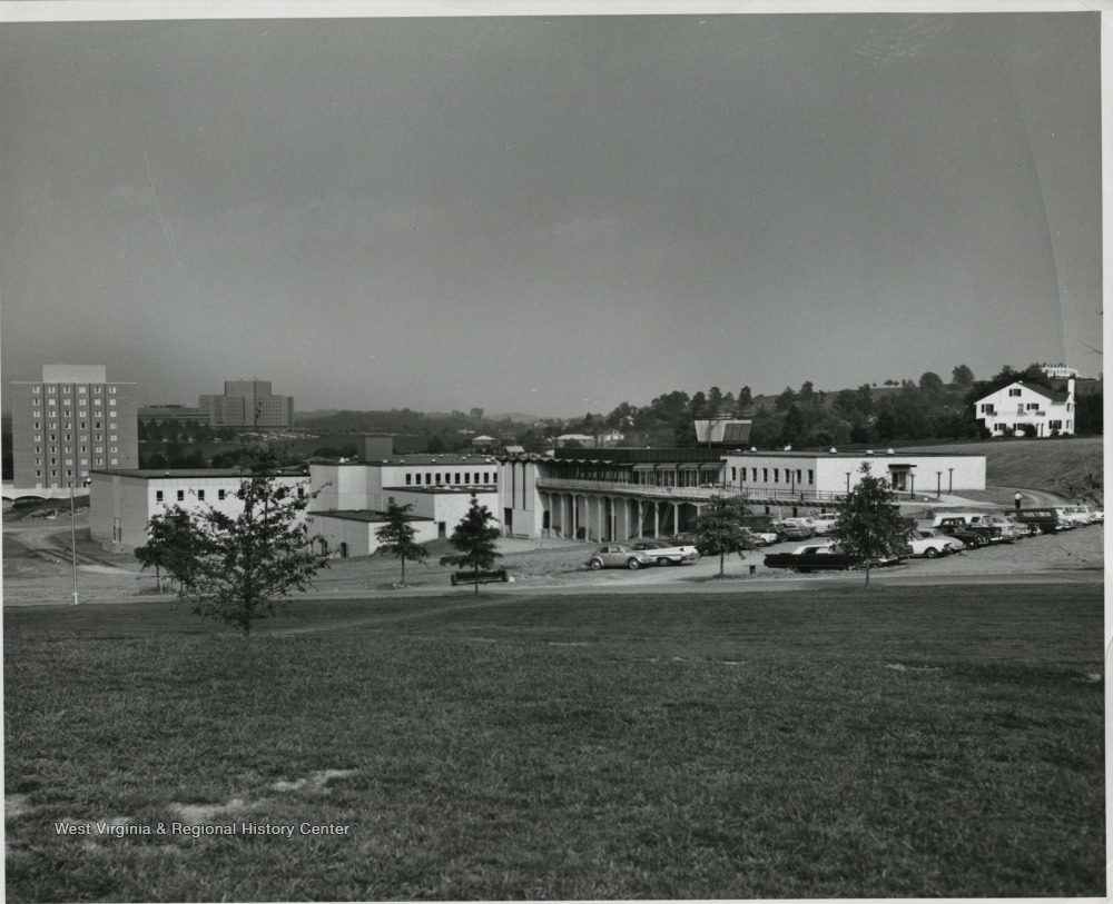 Photo of Percival Hall, circa 1965-1971