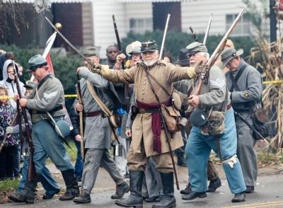 Civil War Days event depicting the Battle of Guyandotte