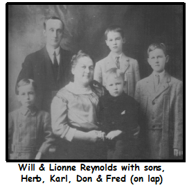 Reynolds family photo from Door County HIstorical Museum & Archives collection