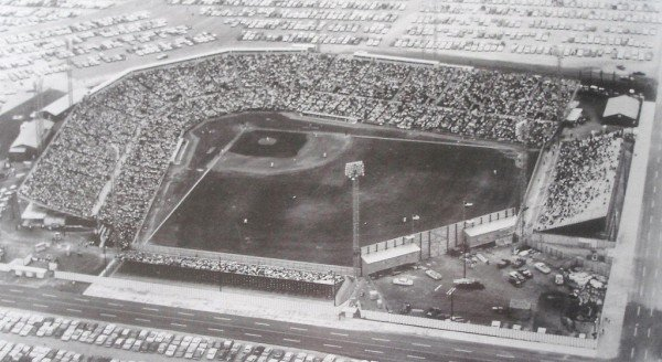 The Houston Colts stadium in 1963.