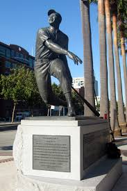 """Mays also became famous for his actions during the 1954 World Series with """"The Catch""""."""