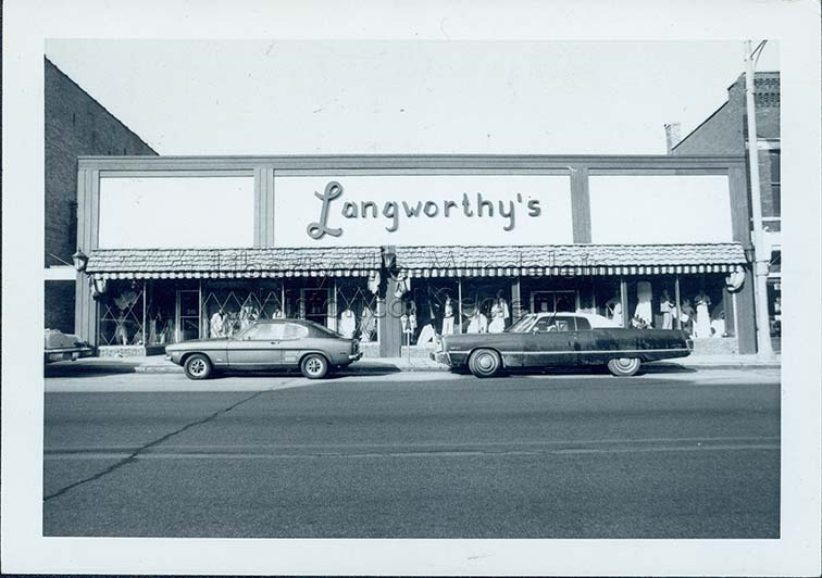 Langworthy's, circa 1974-1976