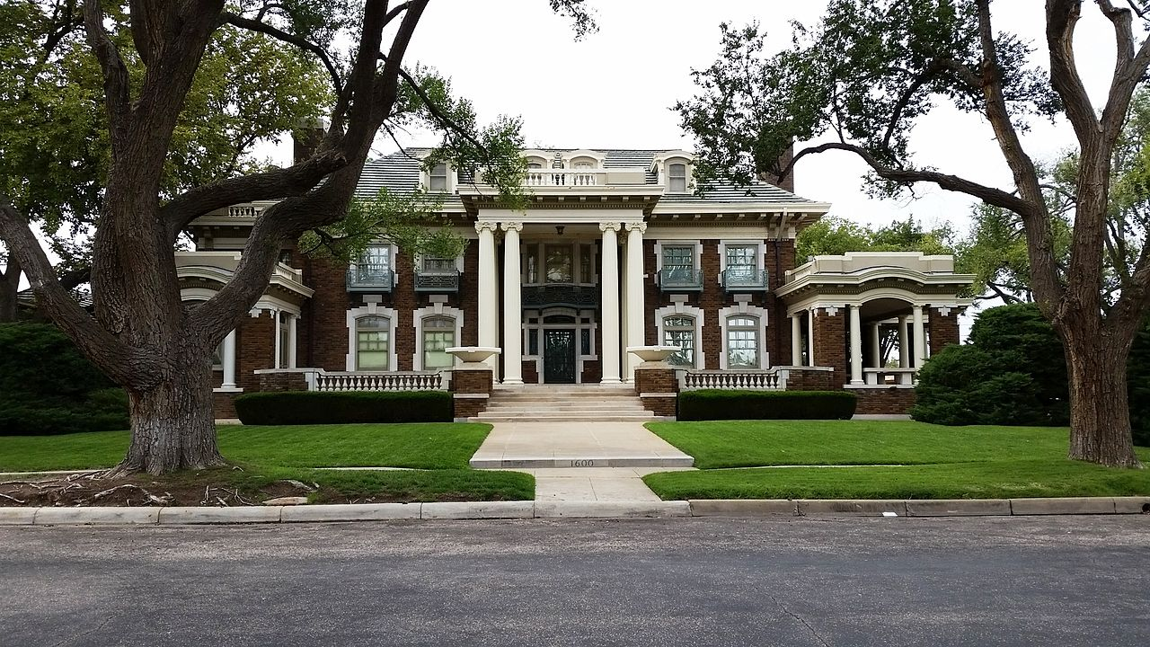 Built in 1914, the Harrington House is one of the most recognizable landmarks in Amarillo.