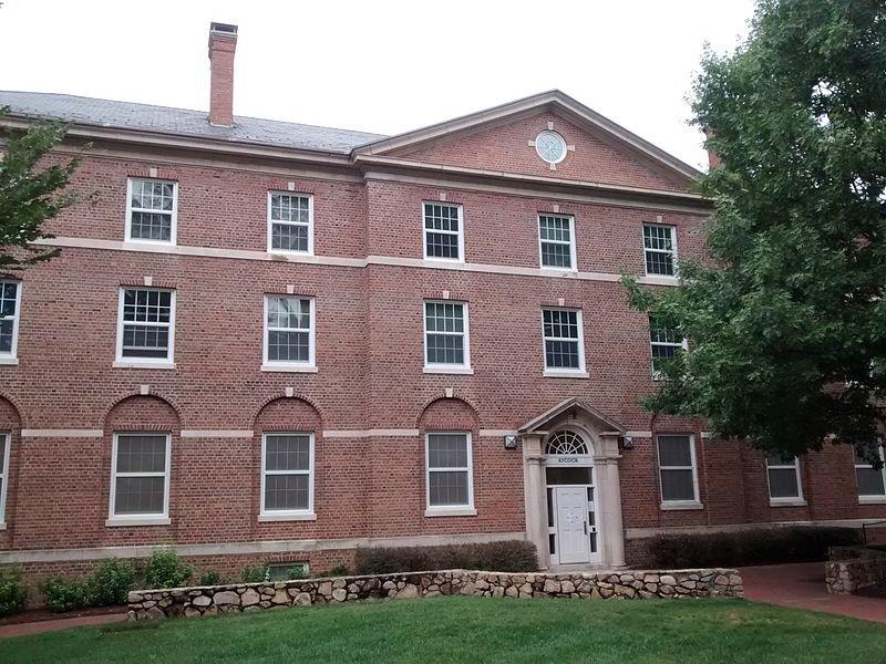Aycock Residence Hall.