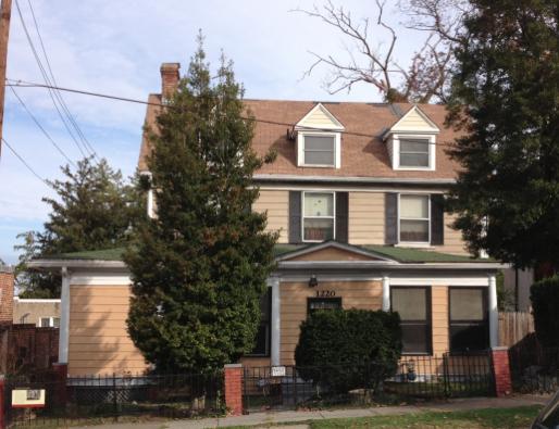 Jones home on Quincy St.