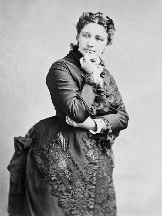 "Victoria Woodhull spent the 1872 Presidential Election Day in jail for publishing an article claiming that a famous preacher at the time, Henry Ward Beecher, was an ""adulterous hypocrite""."