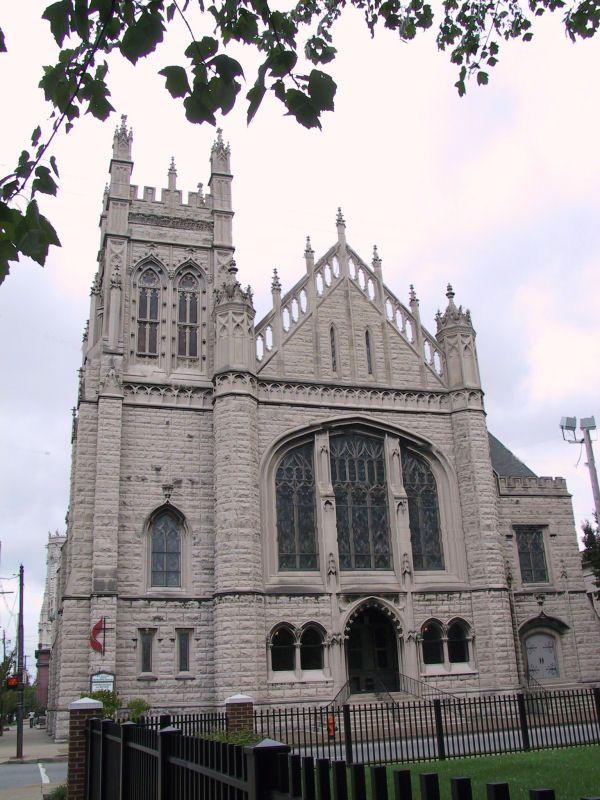 Fourth Avenue Methodist Church in Old Louisville