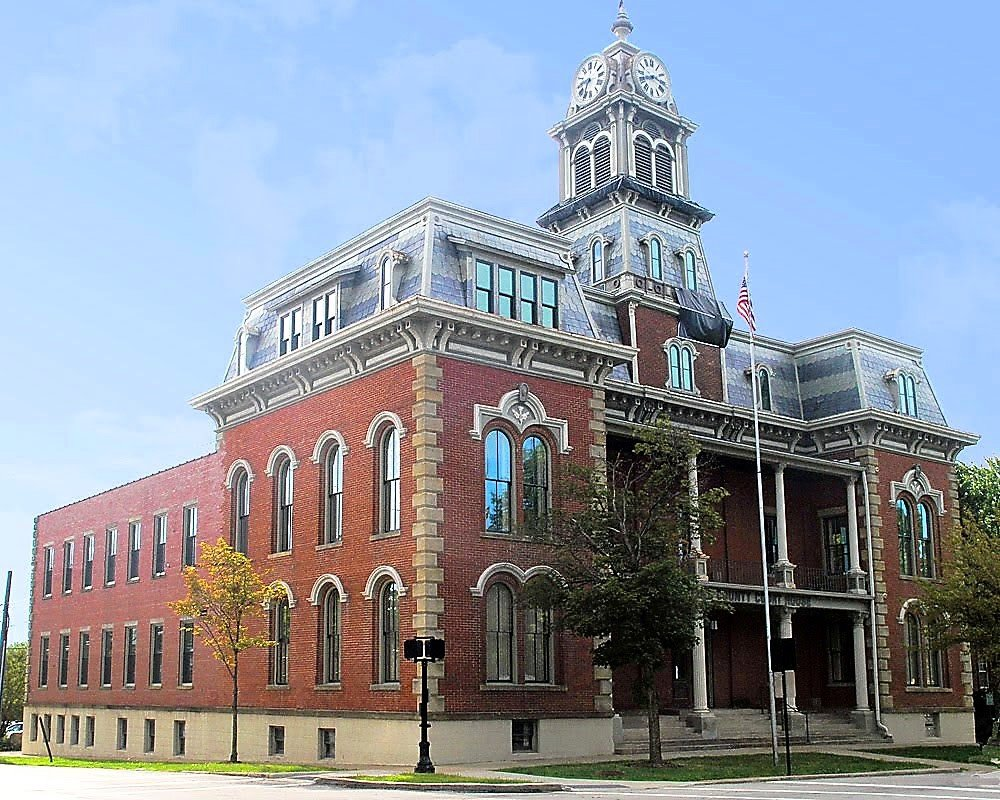Medina County Courthouse as you see today
