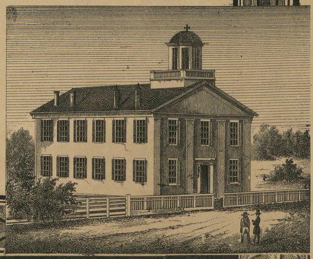 Original 1840 Medina Courthouse - Photo courtesy of Medina Historian, Roger Smalley