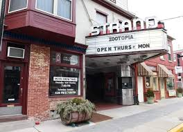 The Strand has been preserved thanks to local community organizations and continues to show movies as it did when it opened in 1920.