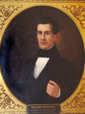 Benjamin Fitzpatrick began serving prior to his twentieth birthday. He is known for serving in  the Alabama Supreme Court and as Governor of Alabama.