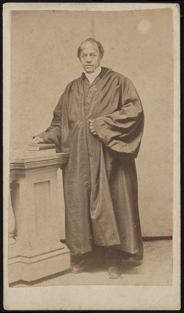 Leonard Grimes was an ordained minister for the Twelfth Baptist Church which was home to many freed and fugitive slaves.