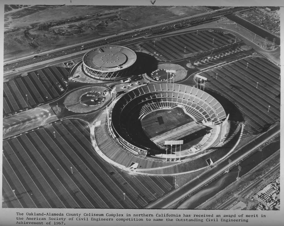 This is a picture of the stadium in 1967.