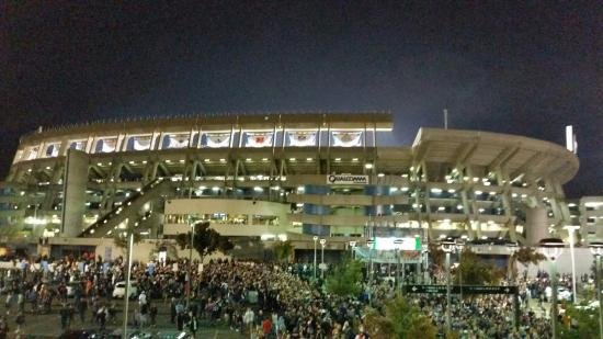 San Diego County Credit Union Stadium, most commonly known as Qualcomm Stadium.