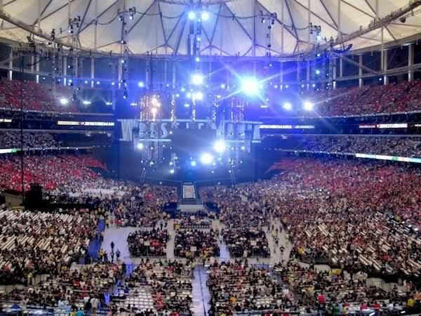Wrestlemania in The Georgia Dome
