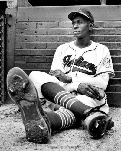 Satchel Paige became the seventh African American and the oldest player in the Major Leagues when he pitched here in 1948.