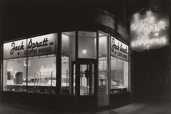 Jack Spratt Coffee House serves as the birthplace for the sit-in movements that would become a way of peaceful protesting for those hoping to elminate the racial inequality imposed on black people in America. Photo Courtesy: Chicago History Museum