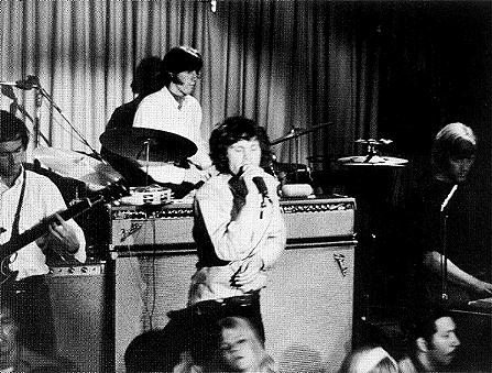 The doors performing at the Whisky a go go